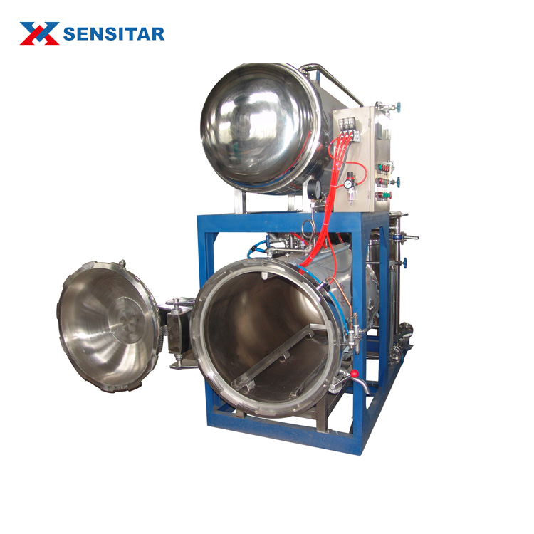 retort pouch sterilizer for sauced meat