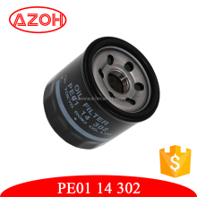Engine parts oil filter for mazda CX5 mazda 3 AXELA and mazda 6 ATENZA generator displacement 2.0 OEM:PE01-14-302,PE0114302