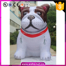 Cute inflatable dog /Home decoration /shopping mall promotion