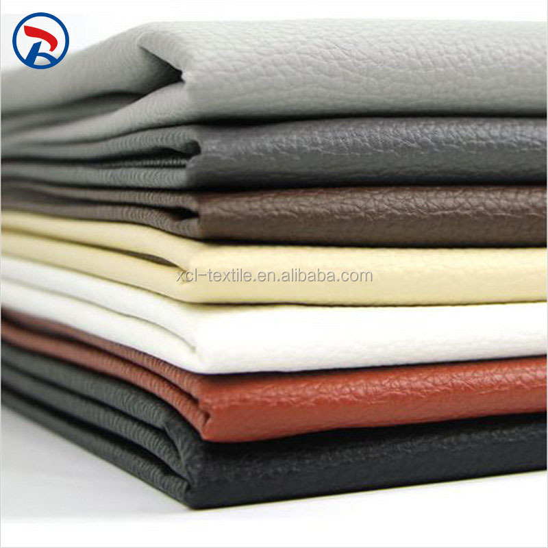 100% PU Best Quality Upholstery Synthetic Leather For Sofa