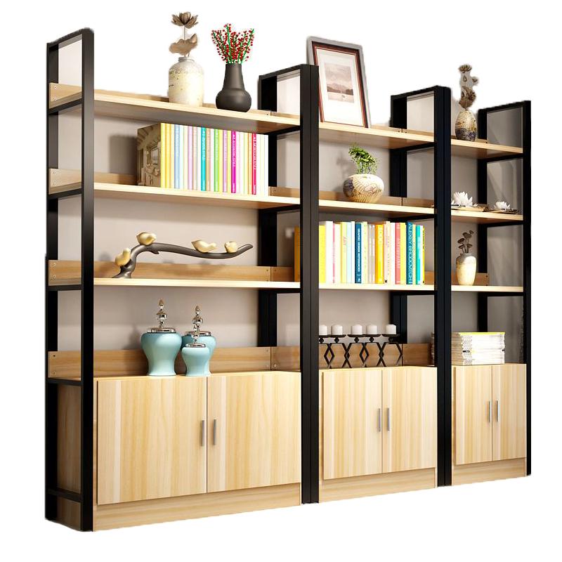Metal Iron Base Wooden Bookcase Furniture Living Room Solid Wood Furniture  - Buy Metal Iron Base Wooden Bookcase,Furniture,Living Room Solid Wood ...