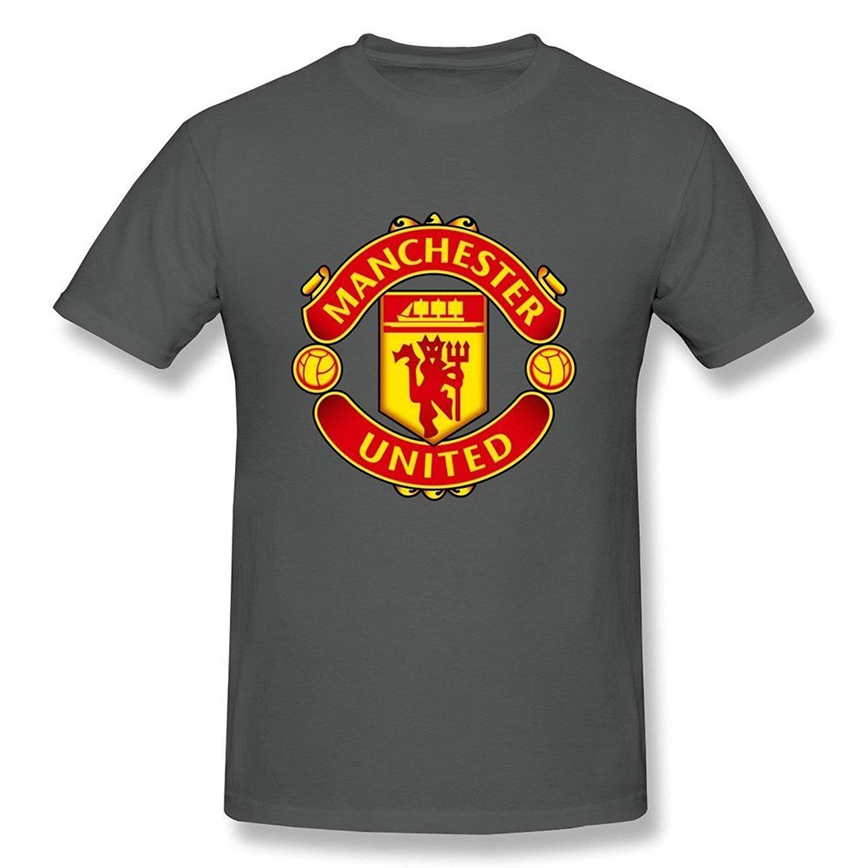 Zelura Men's Premier League Manchester United T-shirts DeepHeather