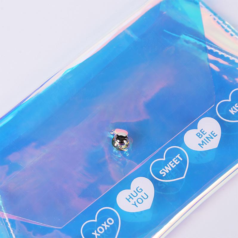 Мода ТПУ держатель для карт кошелек с зажим для денег прозрачный Умный кошелек ювелирные изделия Путешествия женщины кошелек