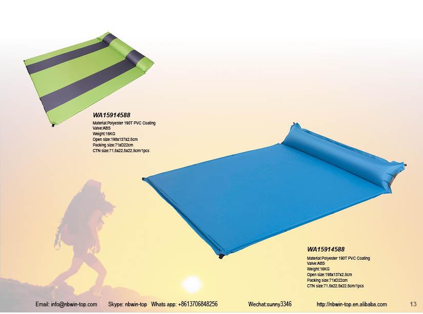 Self Inflating Matras : Ontdek de fabrikant zelfopblazende matras van hoge kwaliteit voor