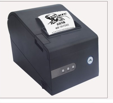 high speed 80mm thermal printer could print logo 3 input pos printer kitchen printer