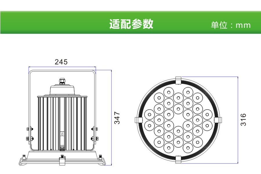 IP67 3 years warranty Football Field Industrial Warehouse Construction Airport Flood Lamp 150W Led High Mast Light