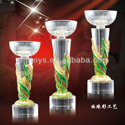 colour enamels paint crystal golf trophy cups
