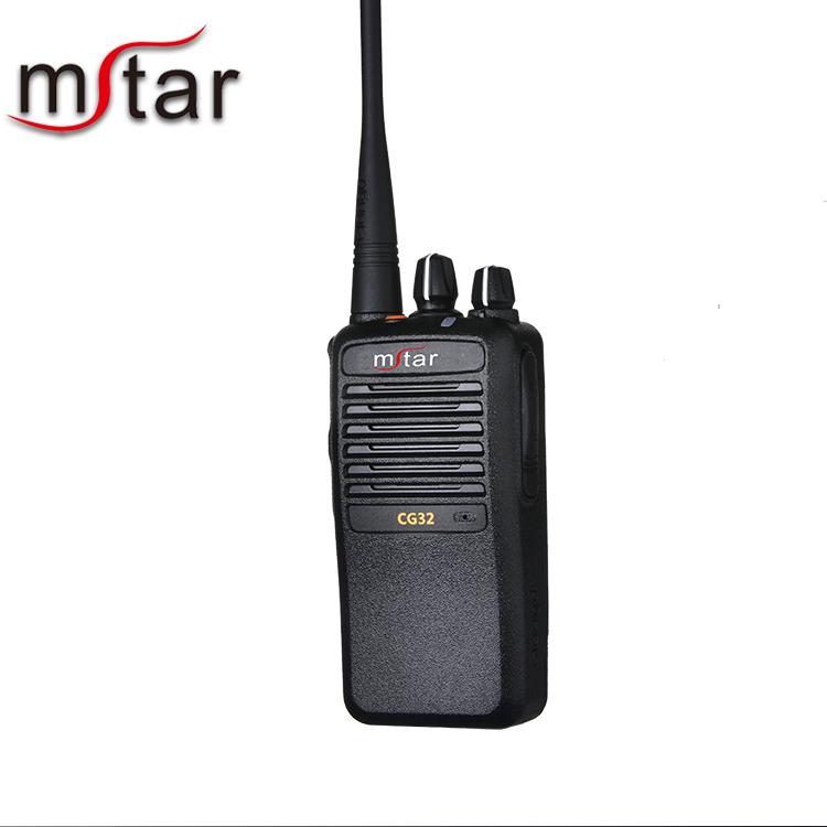 Minxing CG32 Two Way Radio UHF 400-470MHz 2 Way Radio Single Band Rechargeable 16 CH Walkie Talkies (1 Pack)
