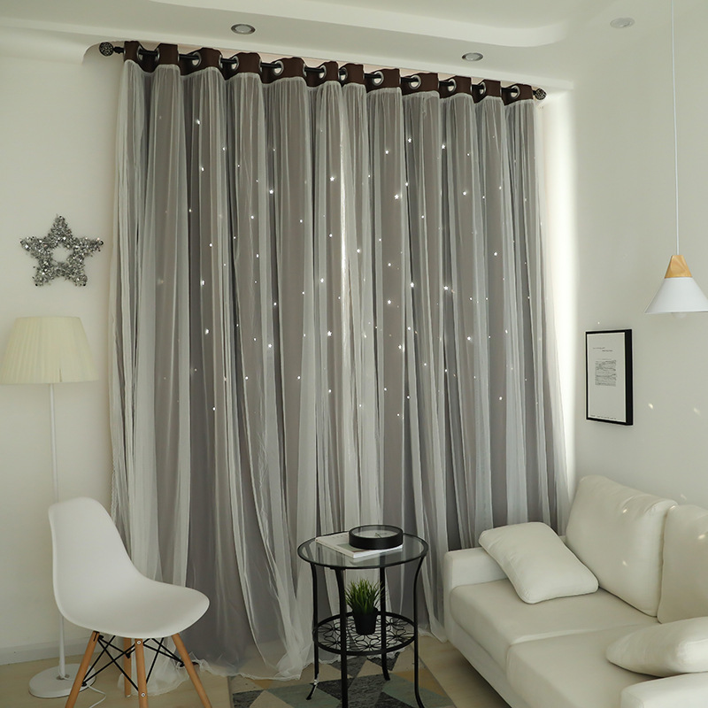 Size Colors Choice Korean Style Princess Star Blackout Curtain Sets Curtain  For Kids Bedroom - Buy Curtain Sets,Curtain Sets Curtain For Kids ...