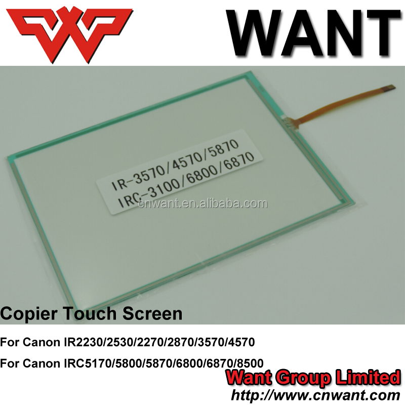 IR3230 copier parts,ir3230 copier touch screen for canon universal with IR2230/2530/2270/2870/3570/4570 touch screen