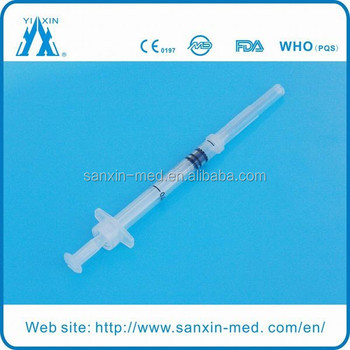 0.1ml-5ml Auto Disable Syringe