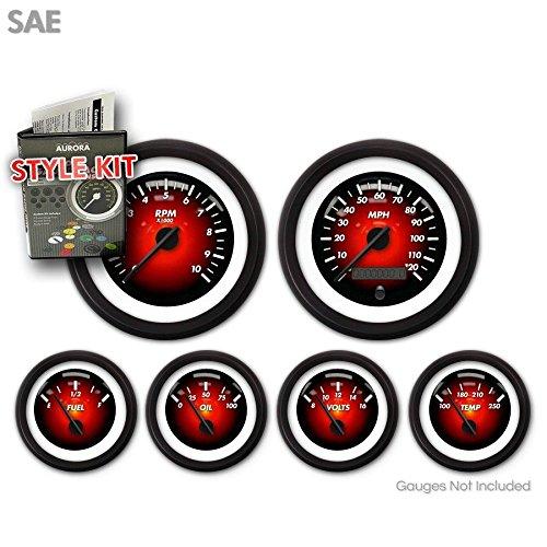 Chrome Rings 1997-2004 C5 Corvette Rear Taillight Lenses Trim Insert Accents