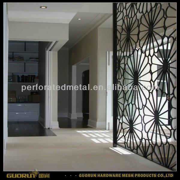 high precision decorative laser cut screen