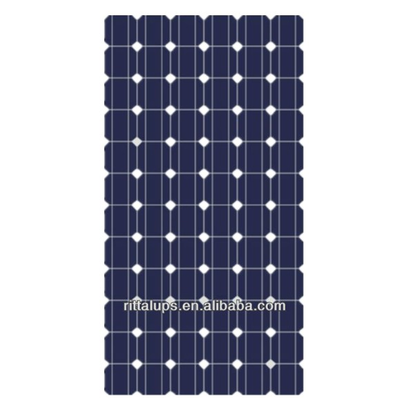 100w 200w 250w 300w flexible mono solar panel with charge for solar home systems