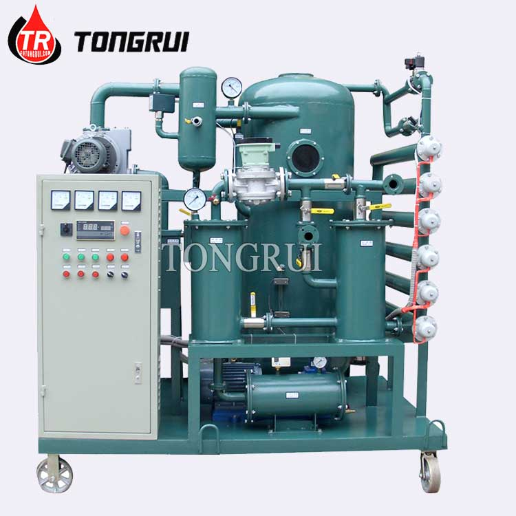 Tongrui ZJA Vacuum Transformer Oil Parts of Oil Purifier for Sale