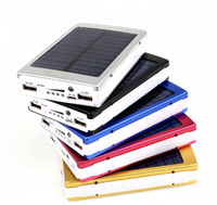 solar power bank portable 20000mah with led flashlights