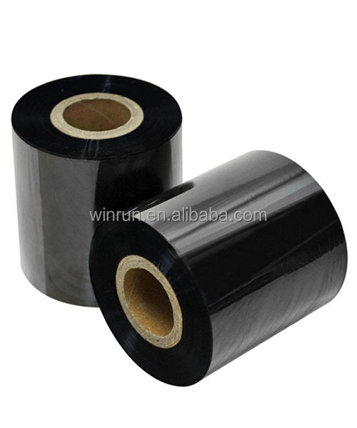 BLACK TTR Wax ribbon for barcode printer