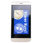 Display Cleaner Sticker Microfiber Adhesive sticky Mobile Phone Screen Cleaner Wipe