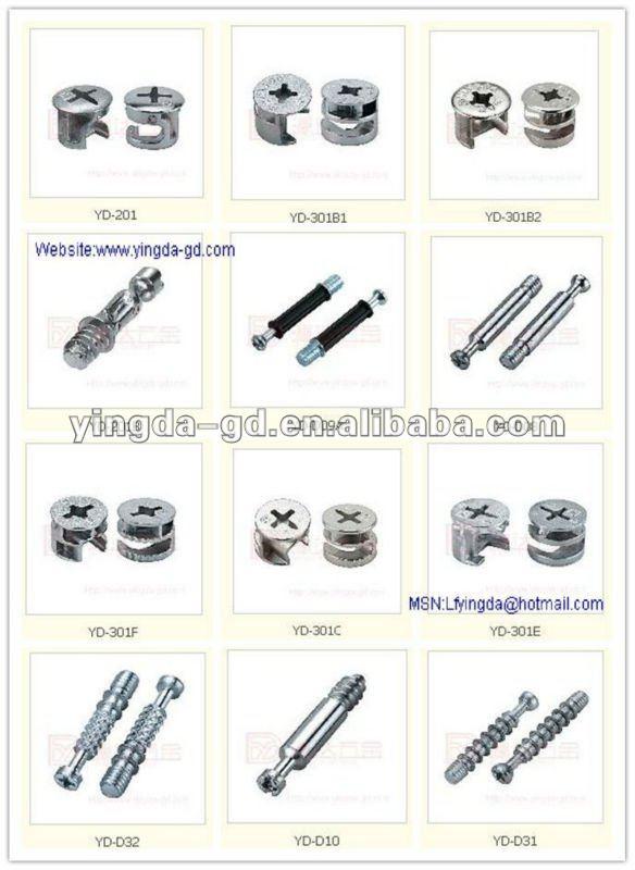 De alta calidad de diferentes tipos de tornillos y for Diferentes tipos de muebles