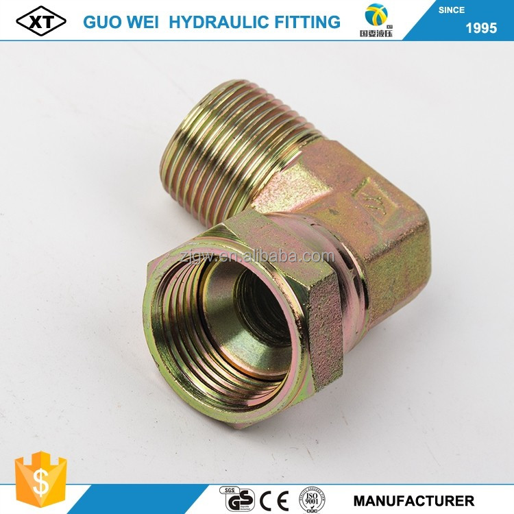 China factory direct sales press nut hydraulic female connectors JIC thread