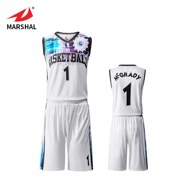 Basketball-Shorts der Sublimations-Basketballuniform-Männer Basketball Jersey