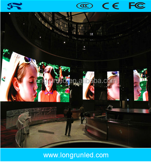 High resolution 576x576 mm p6 indoor led panel with flexible installation
