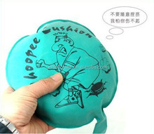 Whoopee cushion with air makes fart sounds