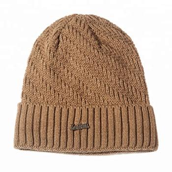 19ee0ed76f4 Custom OEM beanie beanie winter knit skull cap mens baggy plain cuffed  crochet promotional beanies hat