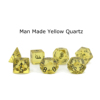 Man-Made Yellow Quartz