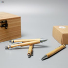 Premium Natural Executive Wooden Bamboo Pen hand made Wooden Arts & Crafts Vintage Collection Elegant Gift