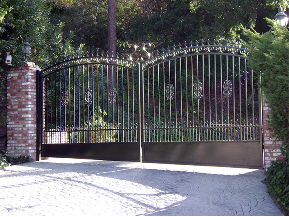 Residential Wrought Iron Fencing And Gate Buy Gates And
