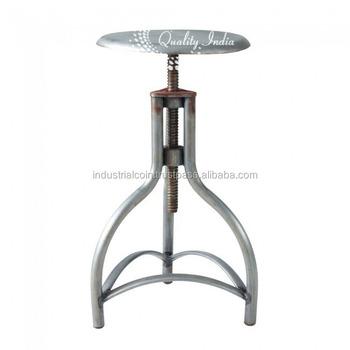 tabouret maison du monde metallic stool