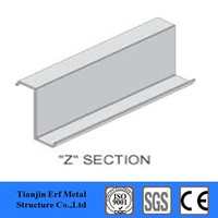 ss400 grade metal z section weight structural steel