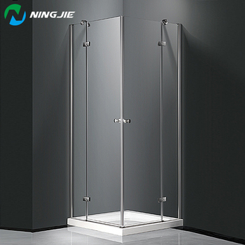 Waterproof Gl Shower Stall Free Standing Enclosure Enclosures