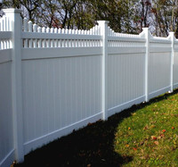 Promotional Multi-Functiona Vinyl Pvc Privacy Fence