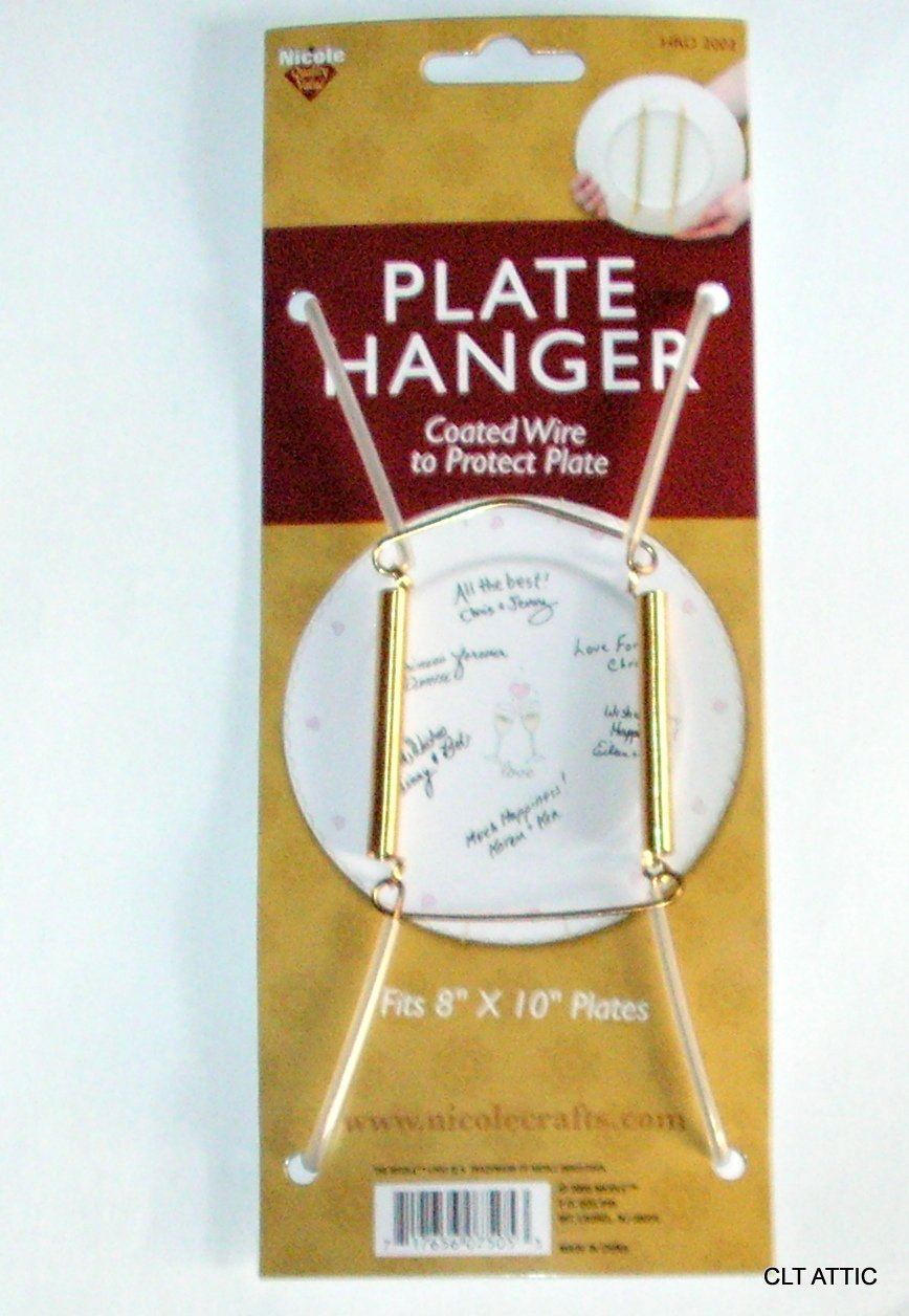 Get Quotations · Nicole PLATE HANGERS for Display Spring Style Expandable to Hold 8 to 10 Inch  sc 1 st  Alibaba & Cheap English Plate Hangers find English Plate Hangers deals on ...