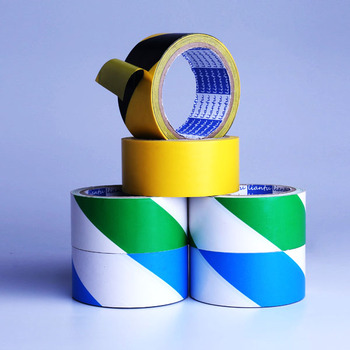 adhesive floor warning duct tape