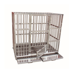 Stainless Steel Large Dog Kennels Pet Dog Crate Cage
