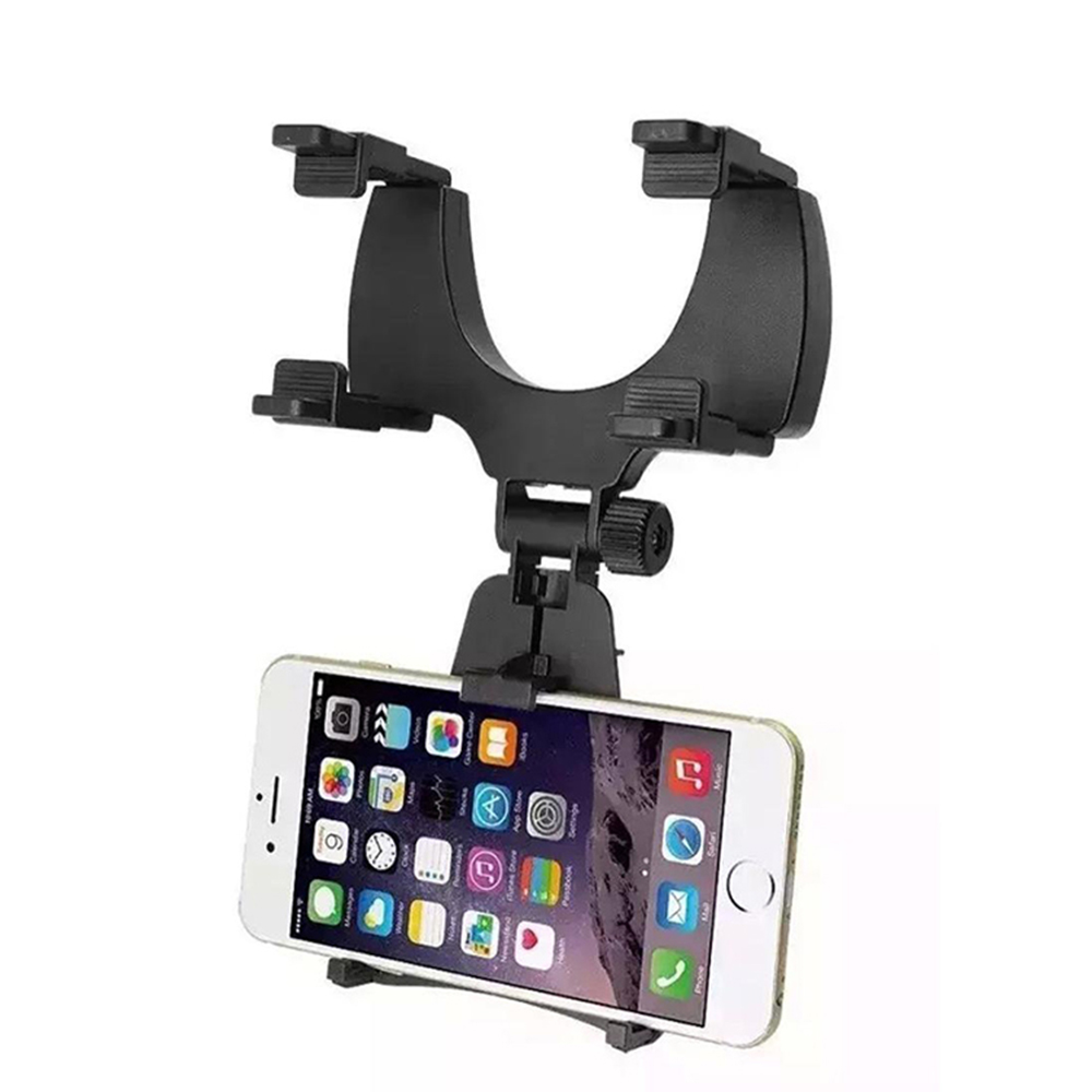 360 Degree Rotation Sucker Universal Mobile Phone Rearview Mirror Car Holder