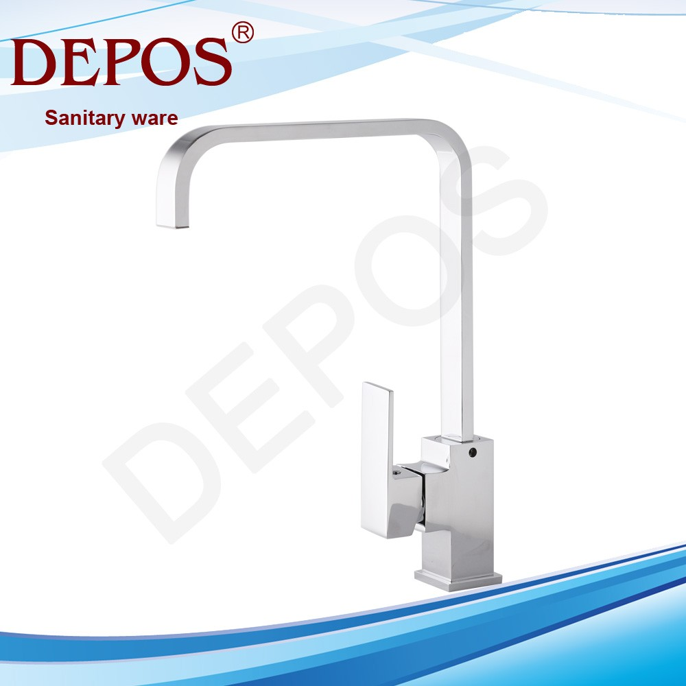 100 automatic kitchen faucet single handle pulldown deckmounted automatic sensor chrome - Automatic kitchen faucet ...