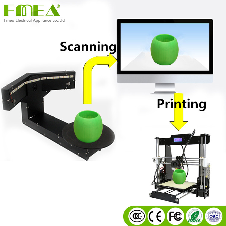 new product cheap price scanning fast 3d printer and mini 3d scanner