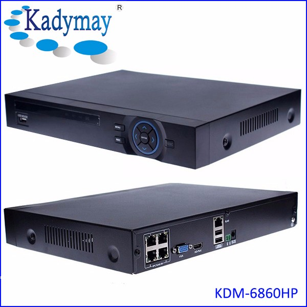 4channels 1080 NVR with built-in POE, with VGA/HDMI output, support DDNS