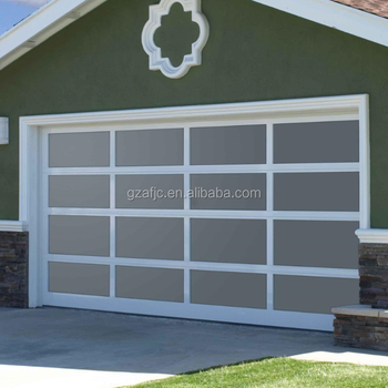 Guangzhou Remote Control Panel Lift Garage Doorsdesigner Doors