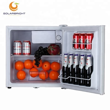 solar power system dc compressor 12V 24V 46L portable outdoor camping solar battery operated medical mini fridge