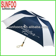 2 folds square fold umbrella