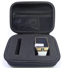 Hot Selling!!!Rectangular travel watch case sunglass case ,leather sunglass watch case.sunglass watch box