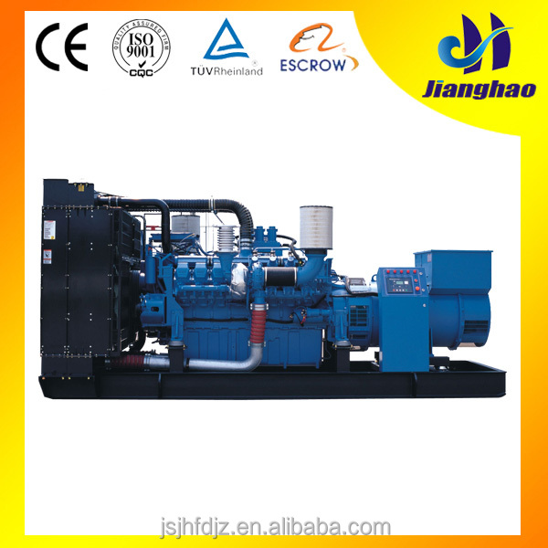 Electric diesel genration 2000KW power generators