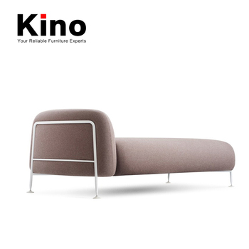 Home /office Furniture Modern Steel Tube Frame Sofa Chaise Couch - Buy  Sofa,Sofa Chaise,Home Furniture/office Furniture Sofa Product on Alibaba.com
