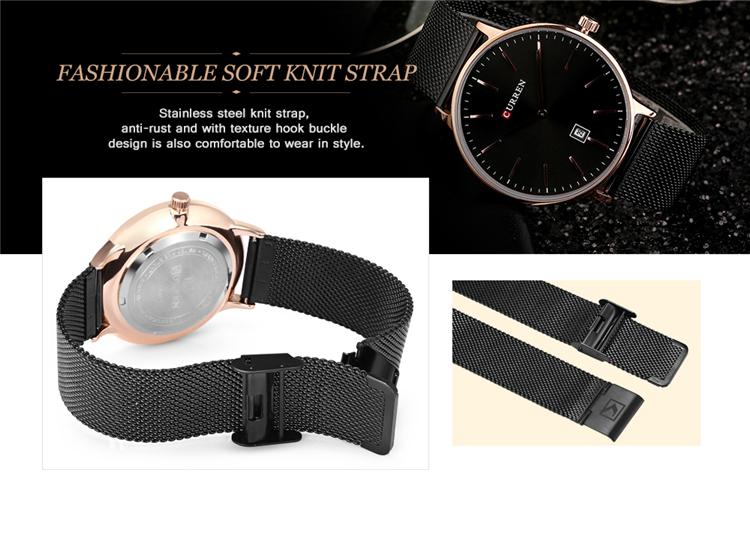Curren 8302 Fashion Men Quartz Watch 11