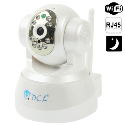 Support 2 Way Audio Function ip hidden camera,dome ip camera PAN/TILT Rotate, WIFI and Motion Detection ip camera outdoor